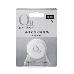 QB Medicated Deodorant Cream 6g
