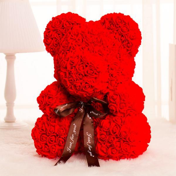 Handmade Rose Bear The Best Valentine's Gift