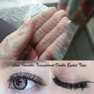 Lace Invisible Transparent Double Eyelid